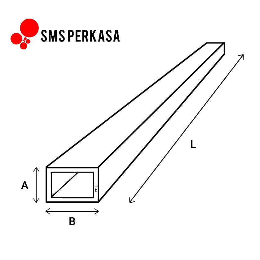 Besi Hollow: Harga, Ukuran, dan Berat | SMS Perkasa